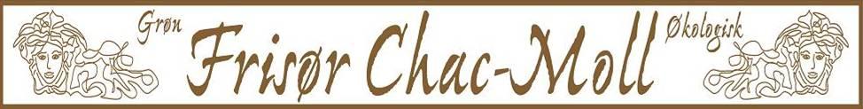 grøn frisør chac-moll logo banner